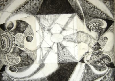 6'x5' charcoal on paper