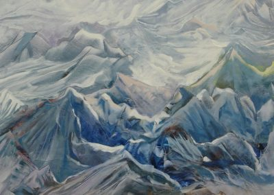 Rhythm of the mountains 54x36cm